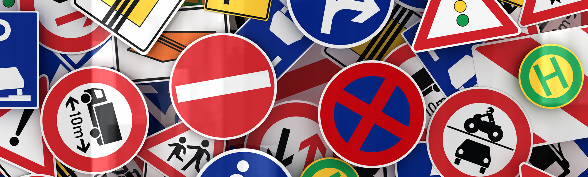 Fotografia cartelli stradali