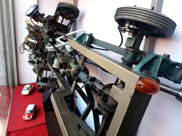 Foto parti del motore