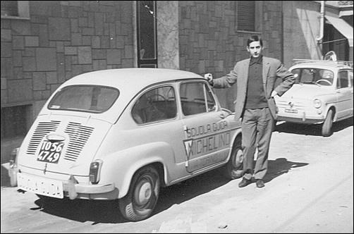 Foto storica dell'Autoscuola Nichelino